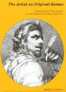 "Cover: The Artist as Original Genius: Shakespeare's ""Fine Frenzy"" in Late Eighteenth-Century British Art"