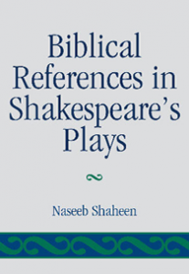 Cover: Biblical References in Shakespeare's Plays