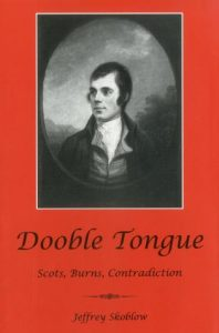 Cover: Dooble Tongue: Scots, Burns, Contradiction
