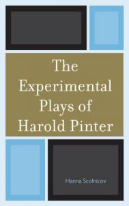 Cover: The Experimental Plays of Harold Pinter