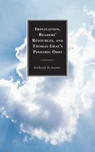 Cover: Implication, Readers' Resources, and Thomas Gray's Pindaric Odes