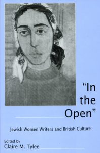 """Cover: """"In the Open"""": Jewish Women Writers and British Culture"""