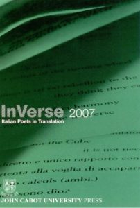 Cover: InVerse 2007: Italian Poets in Translation