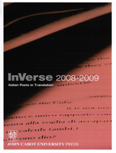 Cover: InVerse 2008-2009: Italian Poets in Translation