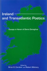 Cover: Ireland and Transatlantic Poetics: Essays in Honor of Denis Donoghue