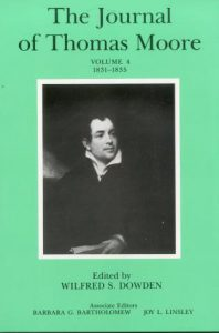 Cover: The Journal of Thomas Moore, Volume 4: 1831-1835