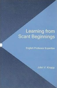Cover: Learning from Scant Beginnings: English Professor Expertise