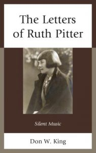 Cover: The Letters of Ruth Pitter: Silent Music