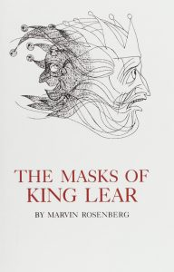 Cover: The Masks of King Lear
