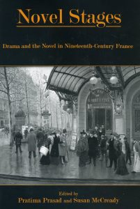 Cover: Novel Stages: Drama and the Novel in Nineteenth-Century France