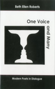 Cover: One Voice and Many: Modern Poets in Dialogue