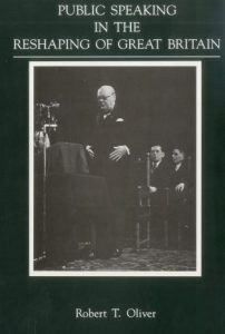 Cover: Public Speaking in the Reshaping of Great Britain