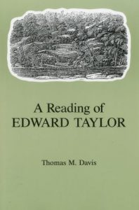 Cover: A Reading of Edward Taylor