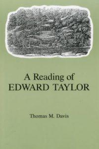 A Reading of Edward Taylor