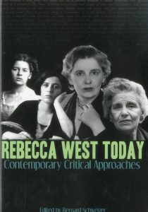 Cover: Rebecca West Today: Contemporary Critical Approaches