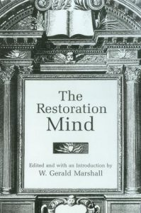 Cover: The Restoration Mind