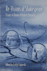Cover: Re-Visions of Shakespeare: Essays in Honor of Robert Ornstein