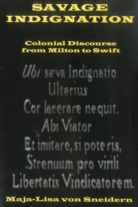 Cover: Savage Indignation: Colonial Discourse from Milton to Swift