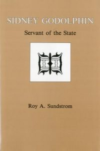 Cover: Sidney Godolphin: Servant of the State