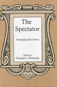 Cover: The Spectator: Emerging Discourses