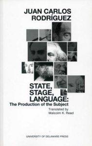 Cover: State, Stage, Language: The Production of the Subject