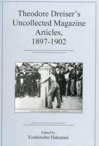 Cover: Theodore Dreiser's Uncollected Magazine Articles, 1897-1902
