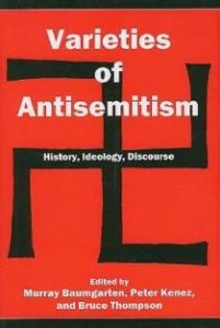 Cover: Varieties of Antisemitism: History, Ideology, Discourse