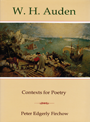 Cover: W. H. Auden: Contexts for Poetry