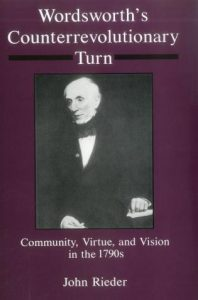 Cover: Wordsworth's Counterrevolutionary Turn: Community, Virtue, and Vision in the 1790s