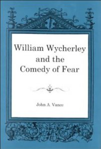 Cover: William Wycherley and the Comedy of Fear
