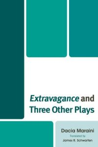 Cover: Extravagance and Three Other Plays