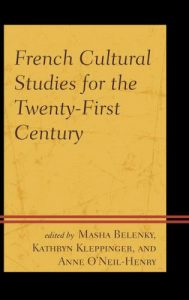 Cover: French Cultural Studies for the Twenty-First Century