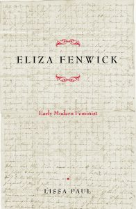 Cover: Eliza Fenwick: Early Modern Feminist