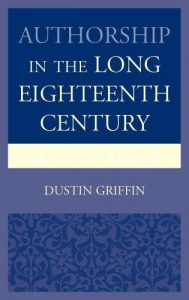 Cover: Authorship in the Long Eighteenth Century