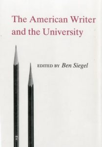 Cover: The American Writer and the University