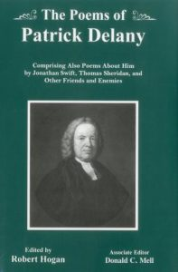 Cover: The Poems of Patrick Delany: Comprising Also Poems About Him by Jonathan Swift, Thomas Sheridan, and Other Friends and Enemies